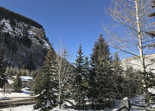 """""""Colorado blue"""" winter sky!"""