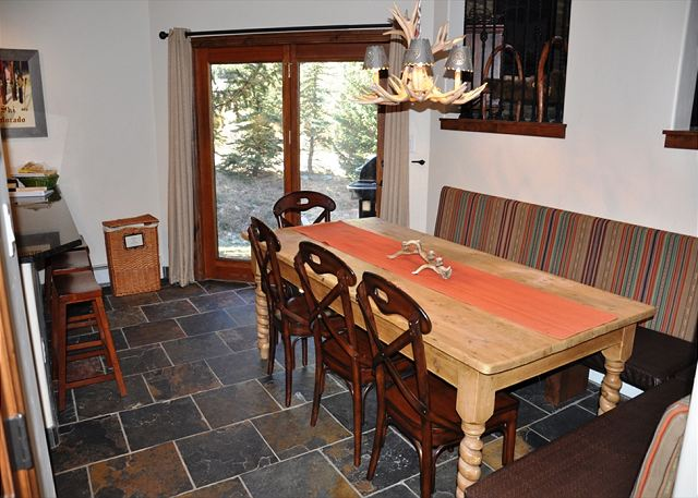 Dining Area table for 8