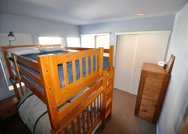 Bunk bedded room in the downstairs area