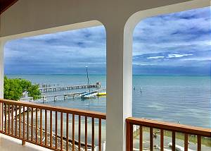 Belize#2: VeLento Oceanfront Rentals: 2 bed 2 bath Unit #2