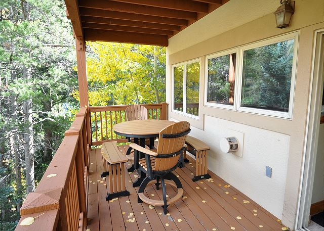 View from your private deck