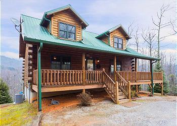 Asheville log cabin rentals greybeard rentals kittys cabin publicscrutiny Images
