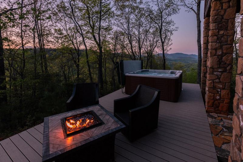 Black Mountain Log Cabin Greybeard Rentals