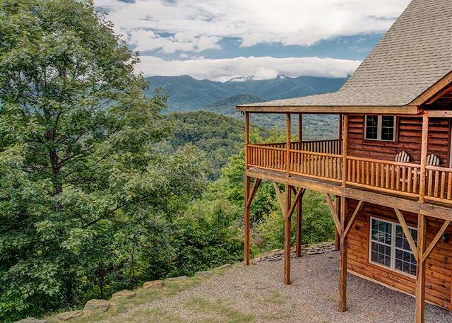 The view greybeard rentals for Asheville nc luxury cabin rentals