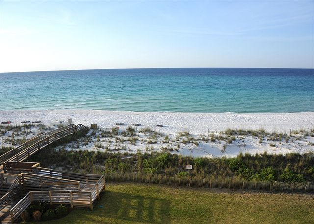 balcony view of the beach
