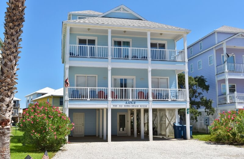 Big Nice House On The Beach lucy the big bama beach house | gulf shores vacation rentals