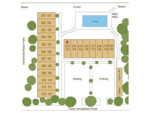 Hale Kai Site Plan