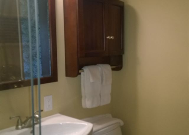 Newly remodeled bathroom (Sep - 2014)