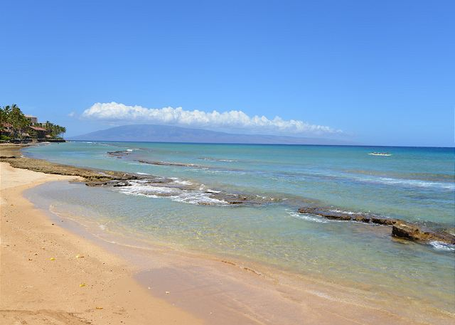 Hale Kai # 101 - adjoining beach to the south