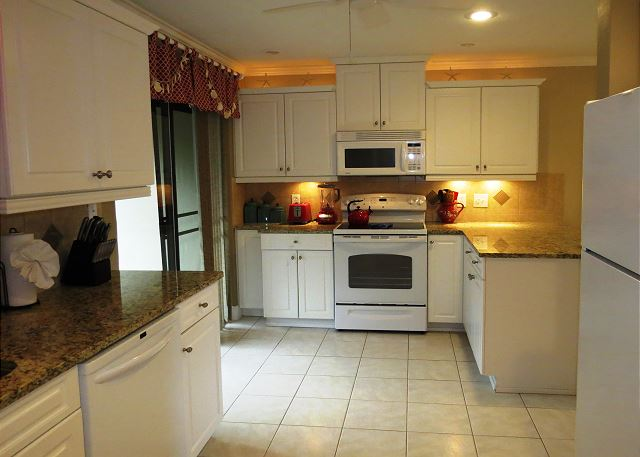 Spacious fully supplied Kitchen