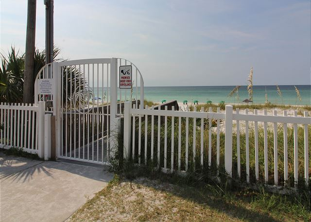 Gated Beach Access