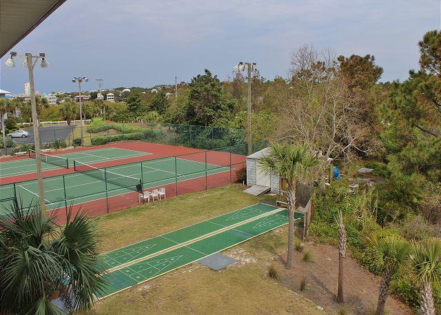 Tennis Courts and Shuffleboard