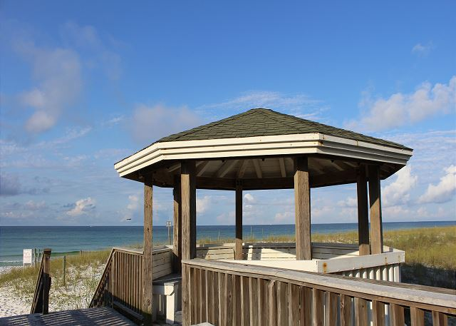 Community Beach Gazebo