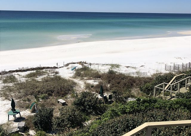 Views to the west from the highest spot all along 30A!