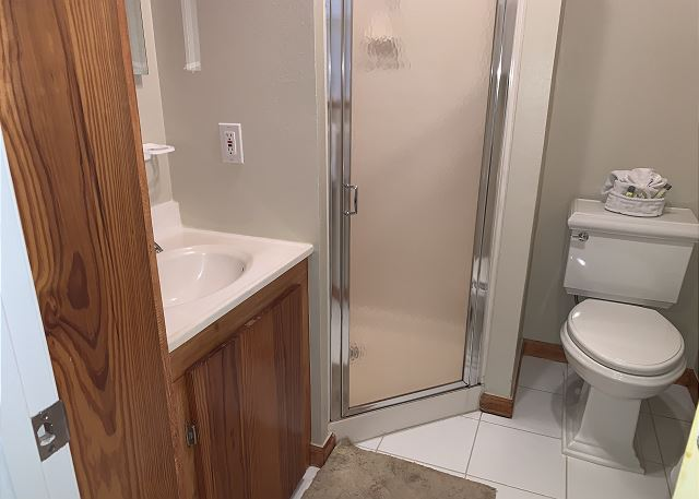 3rd bathroom in studio apartment