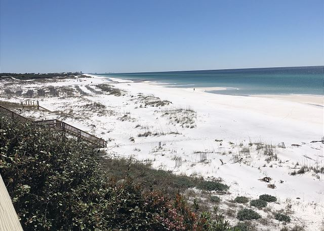 Views to the east from the highest spot all along 30A!
