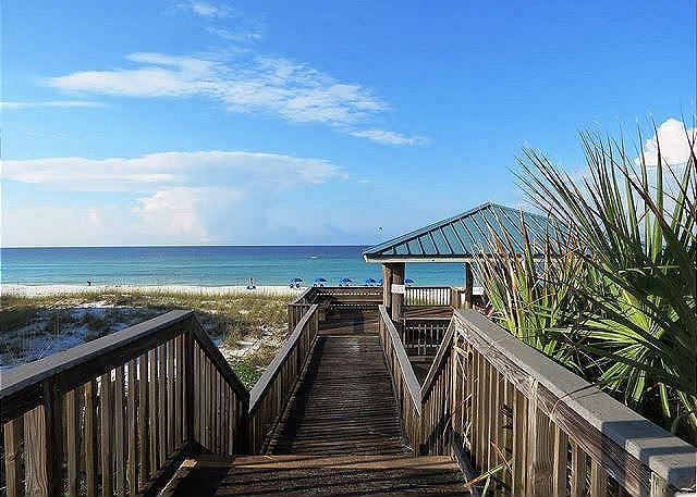 Beach Gazebo at Gulf Winds East