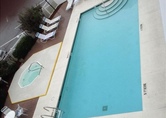 Pool and Hot Tub for the complex.