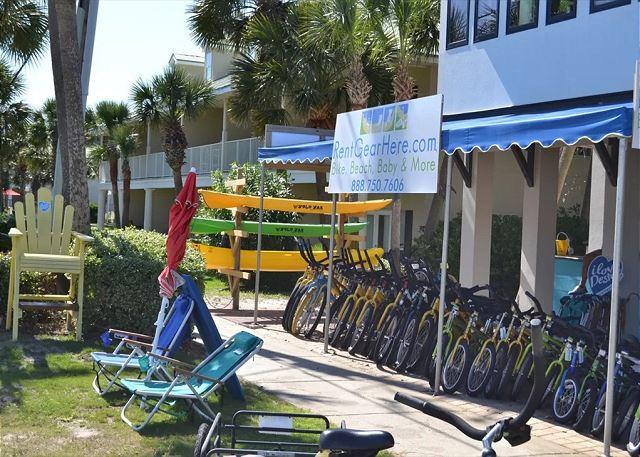 Bike Rentals Available Next Door!