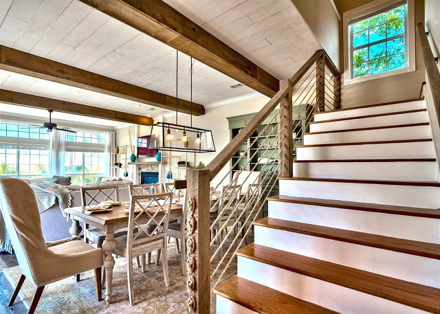 Stairwell/Dining Area
