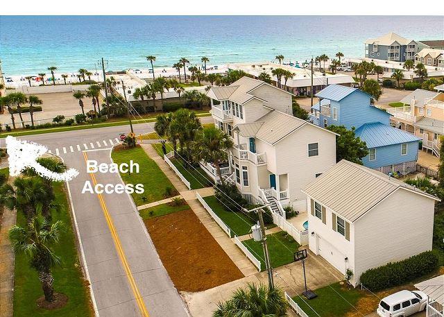 The White Whale  Beach Access