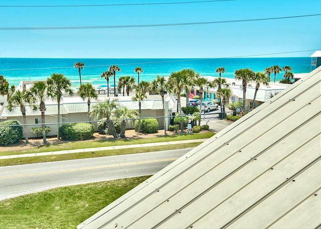 View of Crystal Beach From 3rd Floor Balcony
