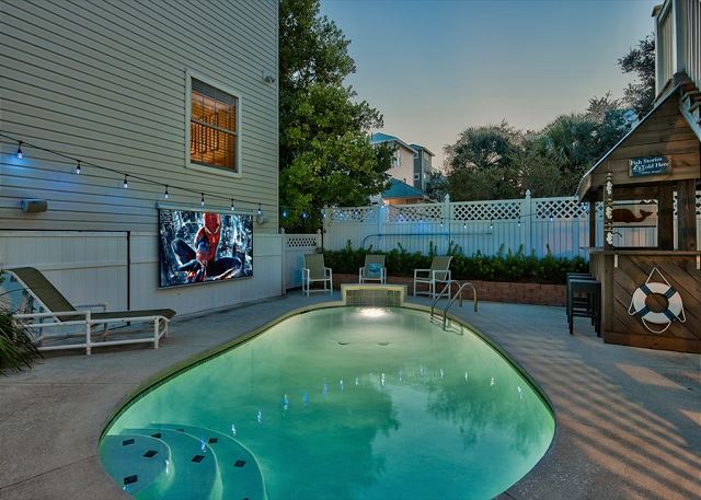 Private Pool - Heated for $45/day
