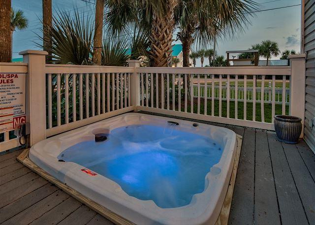 Hot Tub on Main Balcony