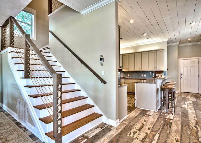 Kitchen/Stairwell