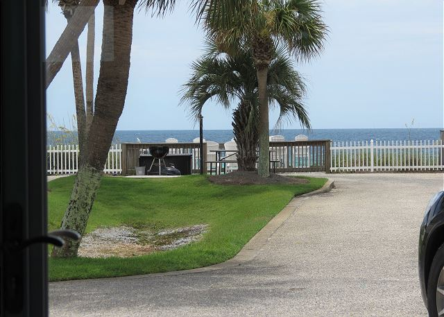 Gulf View from Front Door
