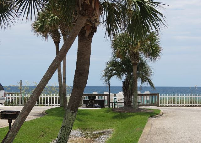 Gulf View from Front Patio