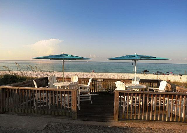 Capri Community Beach Deck