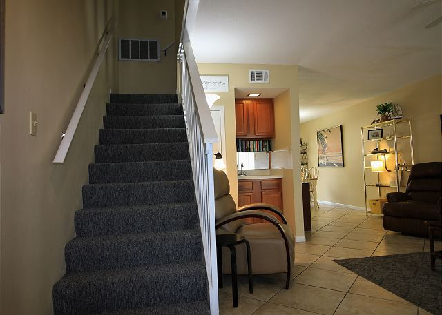 Stairs up to Bedrooms