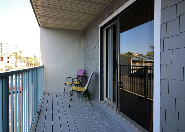 Balcony off 2nd Bedroom
