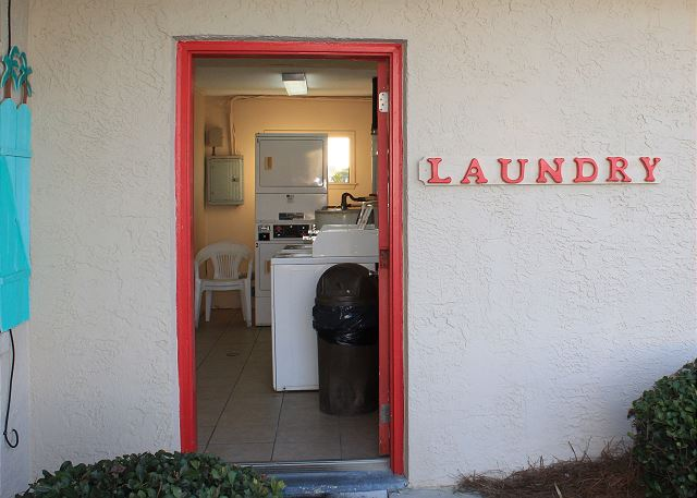2 Coin Laundries onsite