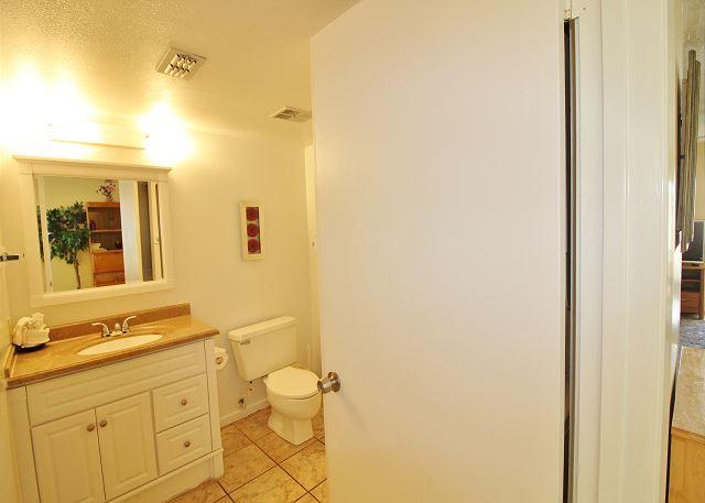 Half Bath off Living Area