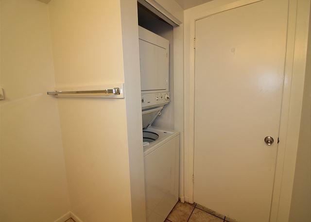 Laundry Room in Half Bath