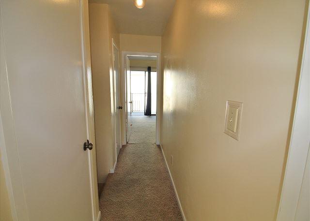 Hall between Bedrooms