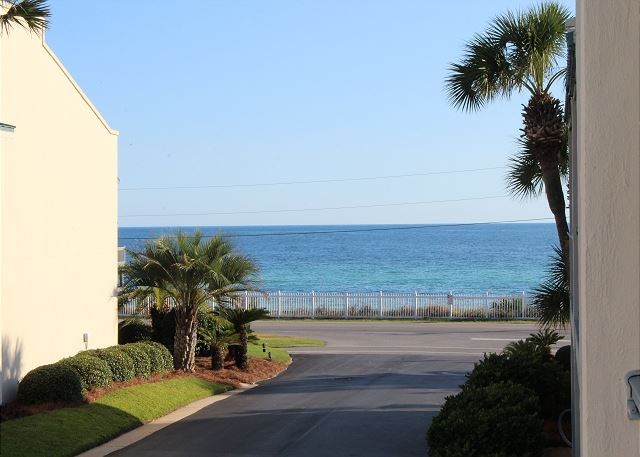 Gulf View from Front Balcony