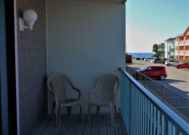 Private Back Balcony