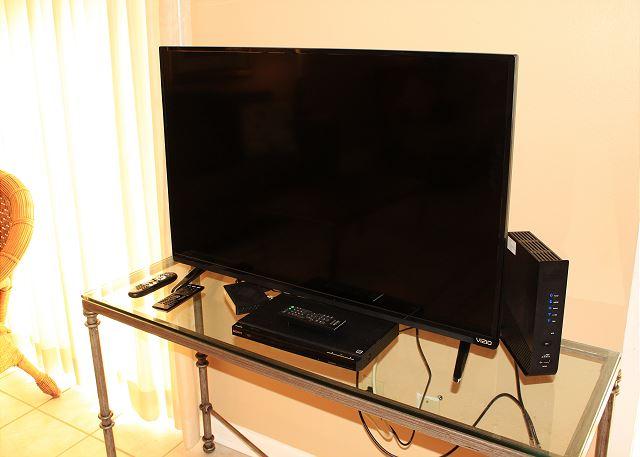 Smart TV in Living Area