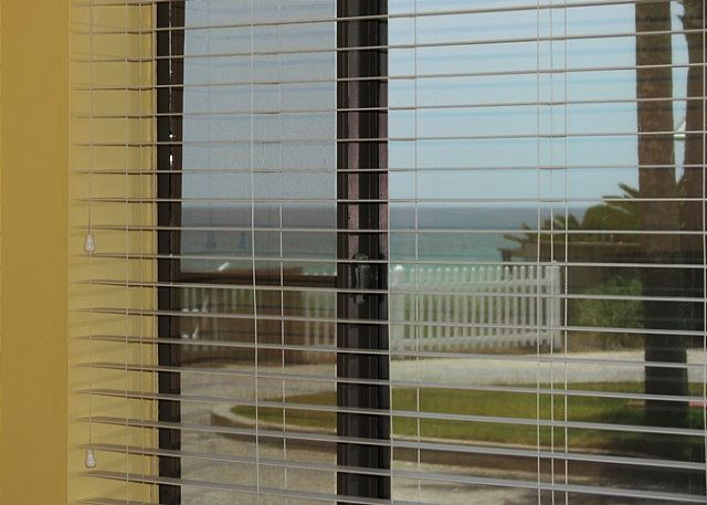 Gulf View from Bedroom