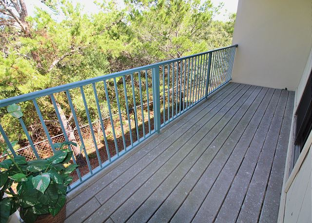 Balcony off Master Bedroom
