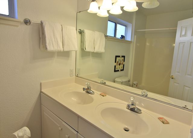 Master Bathroom in Apartment