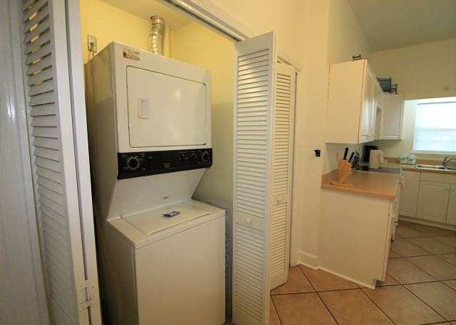 Laundry Closet in Apartment