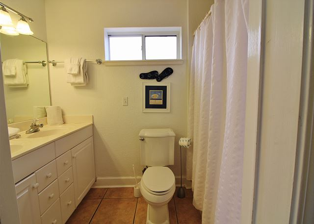2nd Bathroom in Apartment