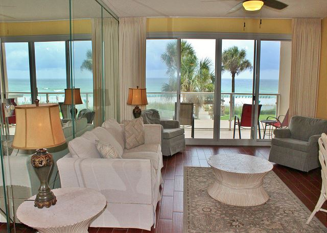 Gulf Views from Living, Dining, & Kitchen areas!