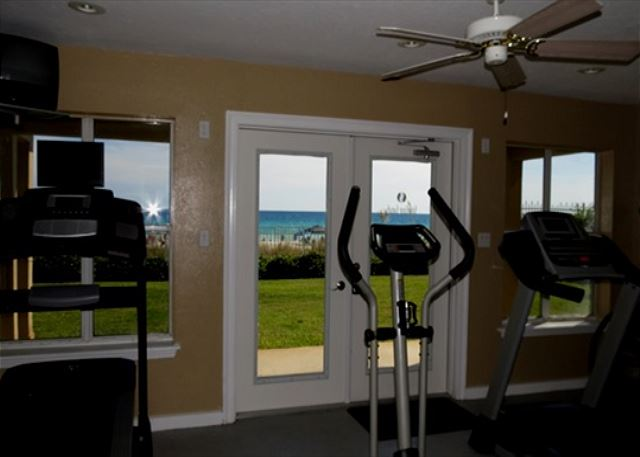 Beach Front Community Fitness Room