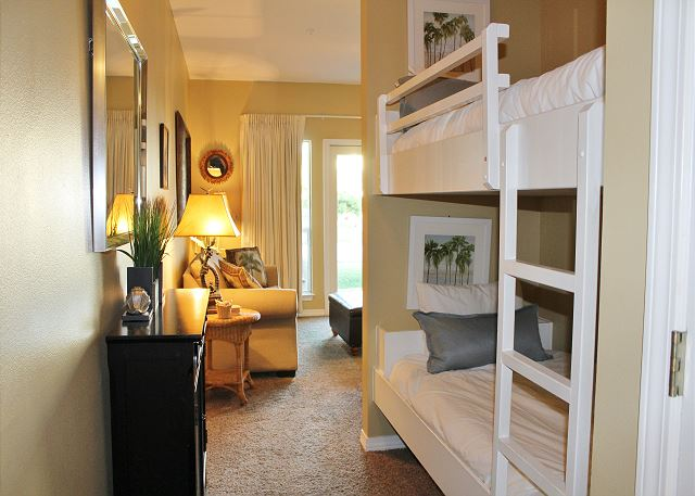 Bunk Beds in Hall