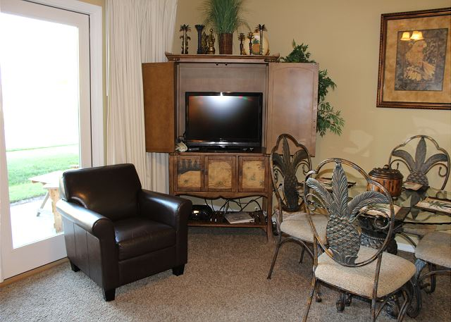TV in Living Area